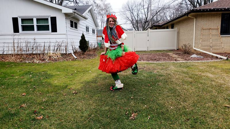 She started a Facebook page called Kristi Trees wanting to share the Christmas spirit as the...