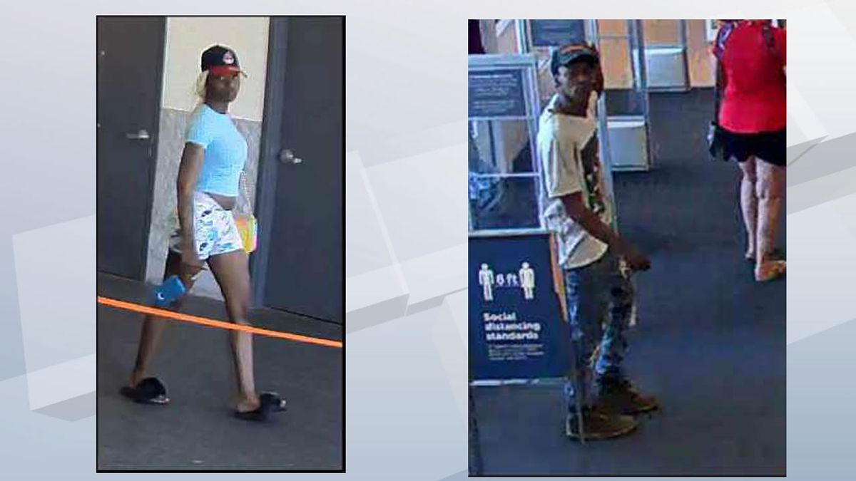 Authorities want to identify a woman and man labeled Suspect #9 and Suspect #11 due to their frequency and the amount of fraud committed passing counterfeit $100 bills