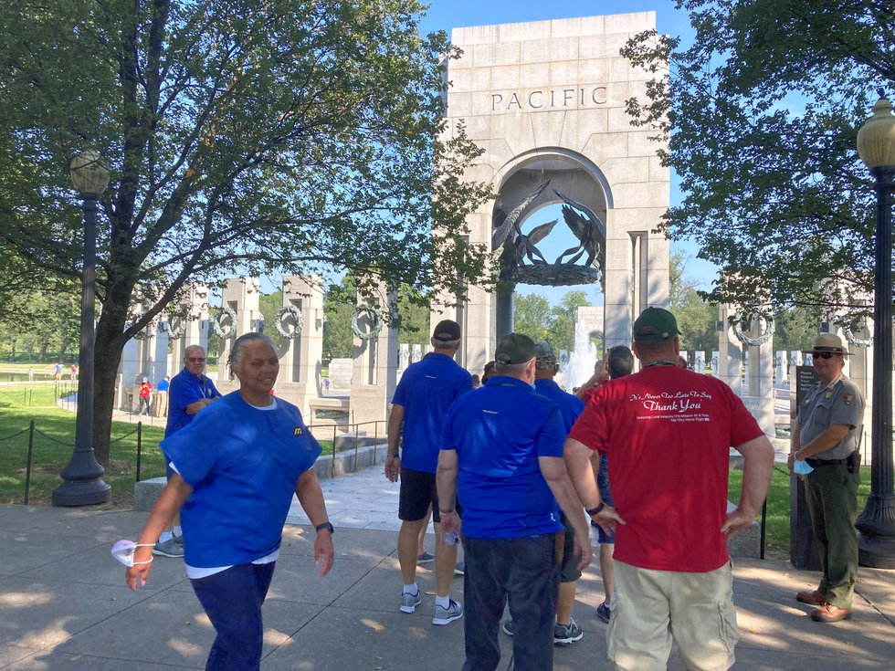 Old Glory Honor Flight Mission 55. Sept. 15, 2021