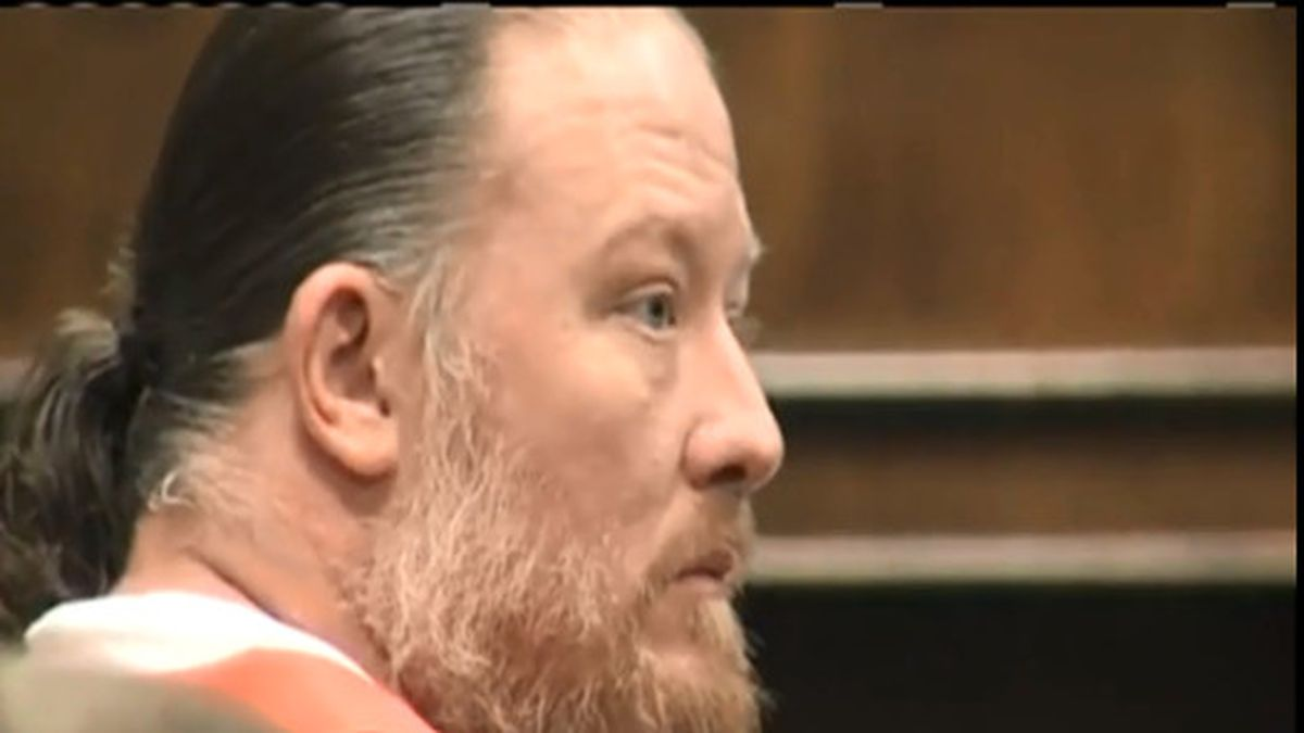 George Burch at his sentencing in May, 2018 (WBAY photo)
