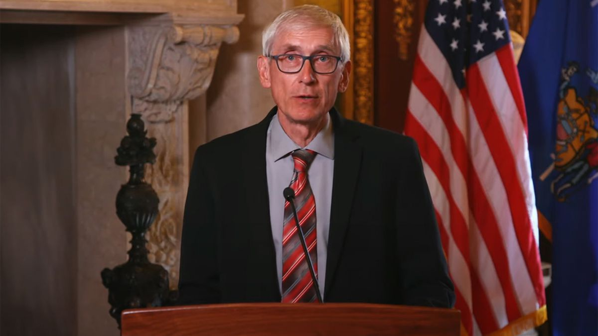 Gov. Tony Evers calls special session following shooting of Black man in Kenosha on Aug. 23, 2020.