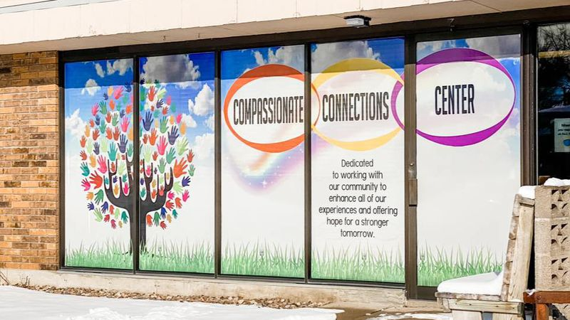Compassionate Connections Center just opened this month. Through its various programs it hopes...