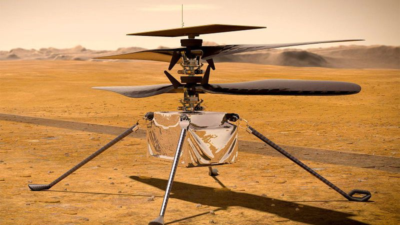 Ingenuity will attempt the first powered, controlled flight on another planet no sooner than...