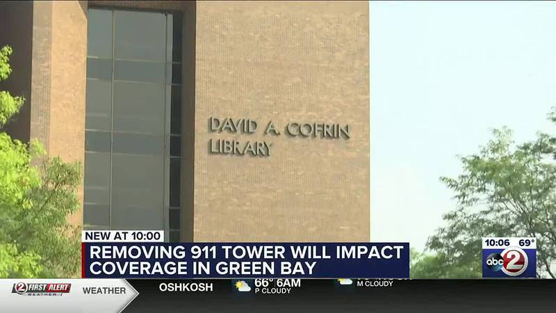 Removing 911 tower will impact coverage in Green Bay