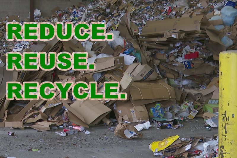 It was a record year for the amount of recyclables coming into the Brown County Resource...