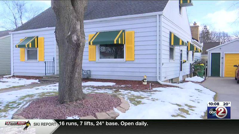 Packers-themed rental home near Lambeau Field