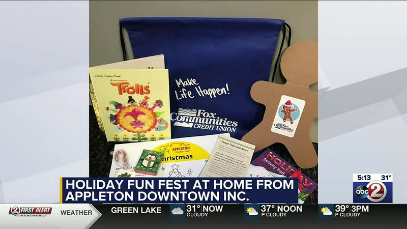 WATCH: Appleton Downtown holiday activity kits