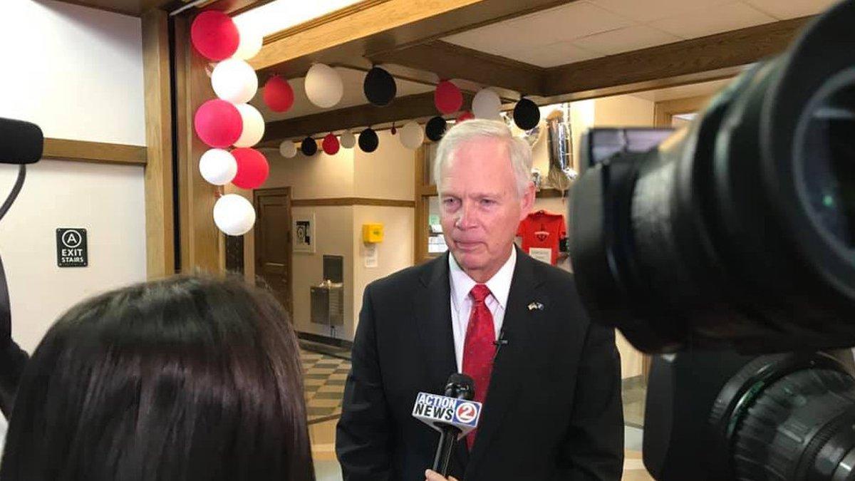 Sen. Ron Johnson. October 2019. (WBAY Photo)