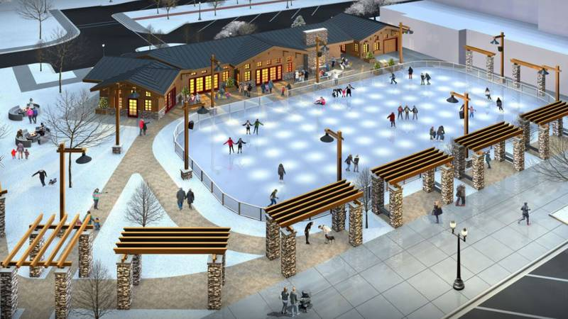 Description of an ice rink project in Neenah, Wisconsin