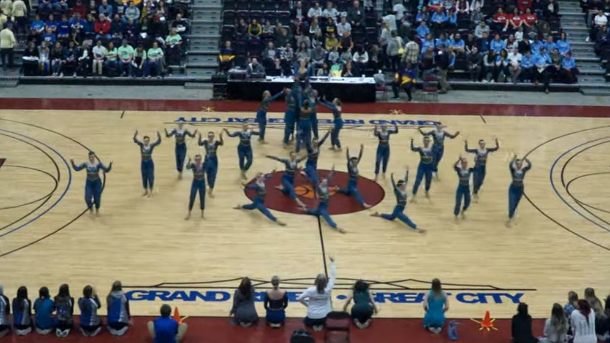 The Little Chute Dance Team wins state in Pom and Kick.