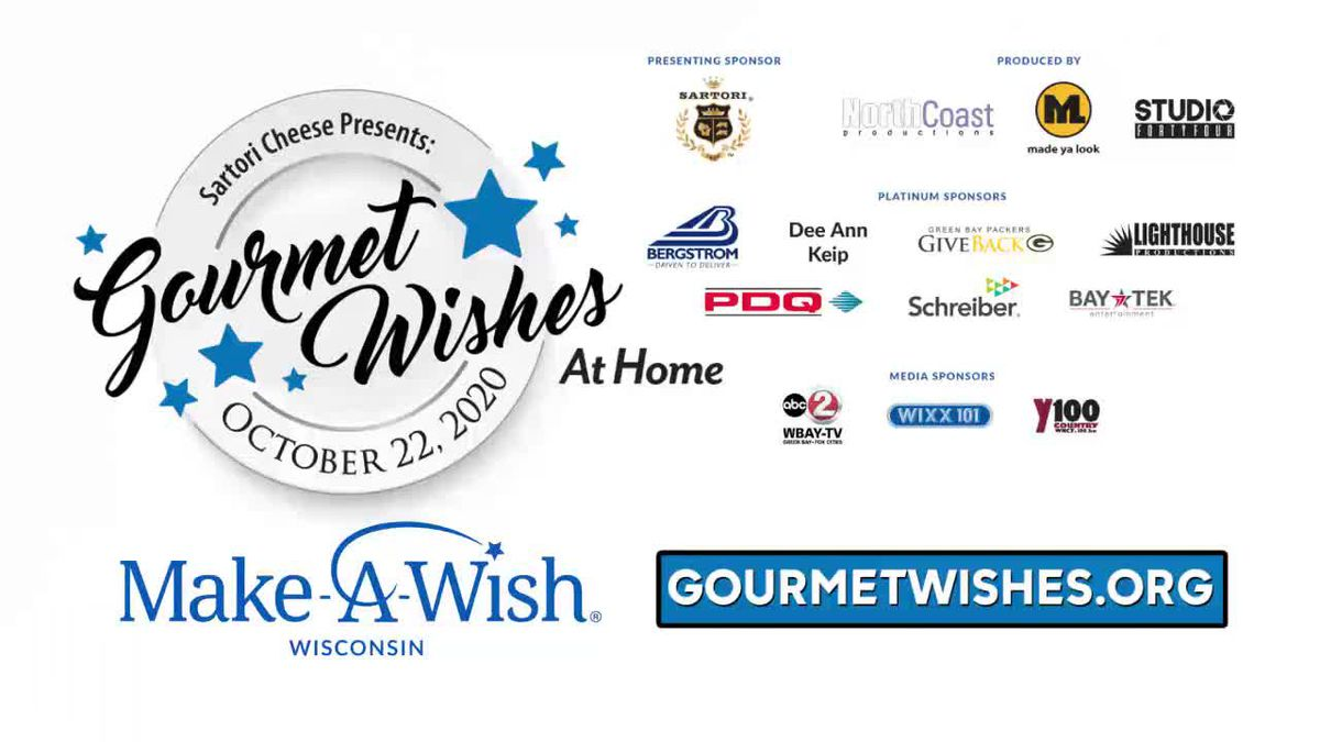 Make-a-Wish Wisconsin Gourmet Wishes sponsors