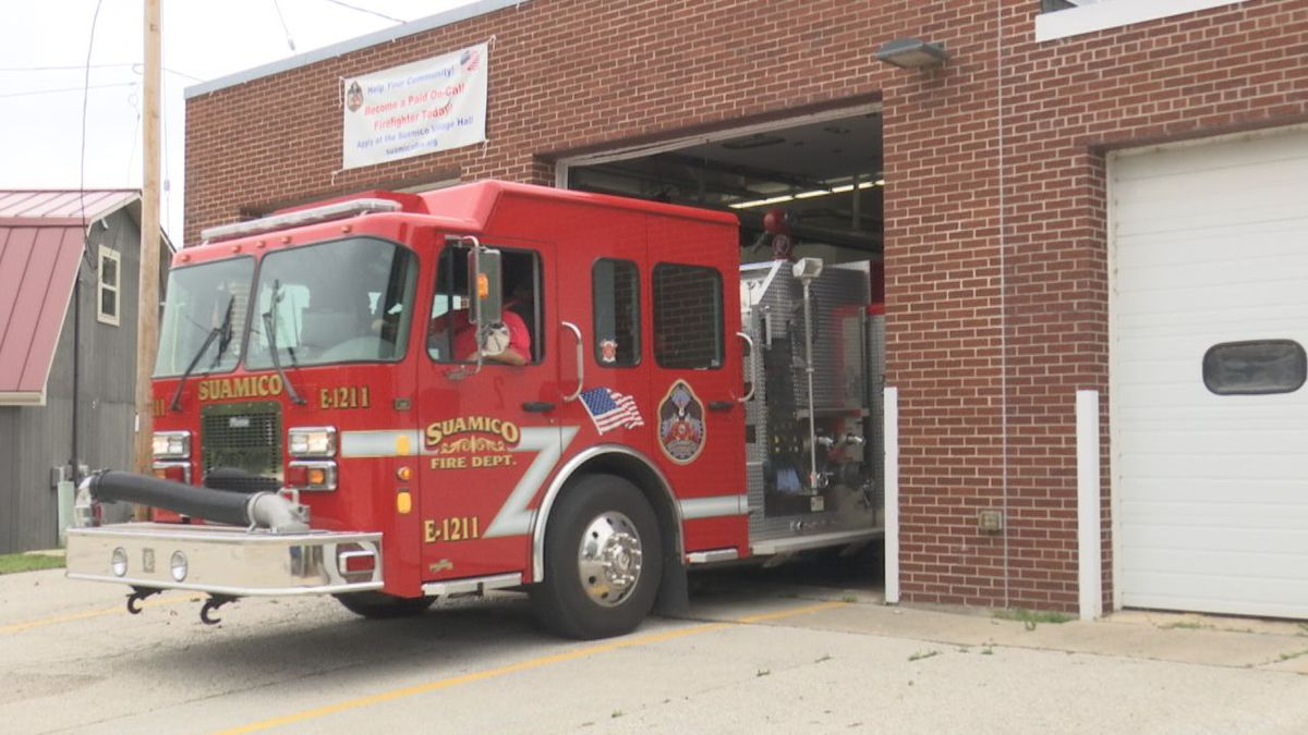 The Suamico fire department and the Village are developing plans for a new fire station.