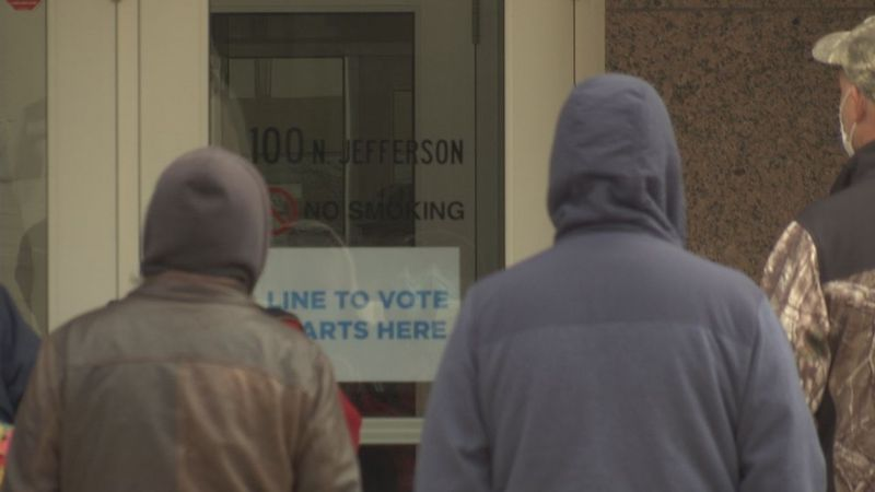As Green Bay says it has a more than enough poll workers, one woman says she's opting out due...