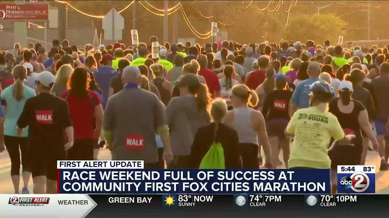 Race weekend full of success at Community First Fox Cities Marathon