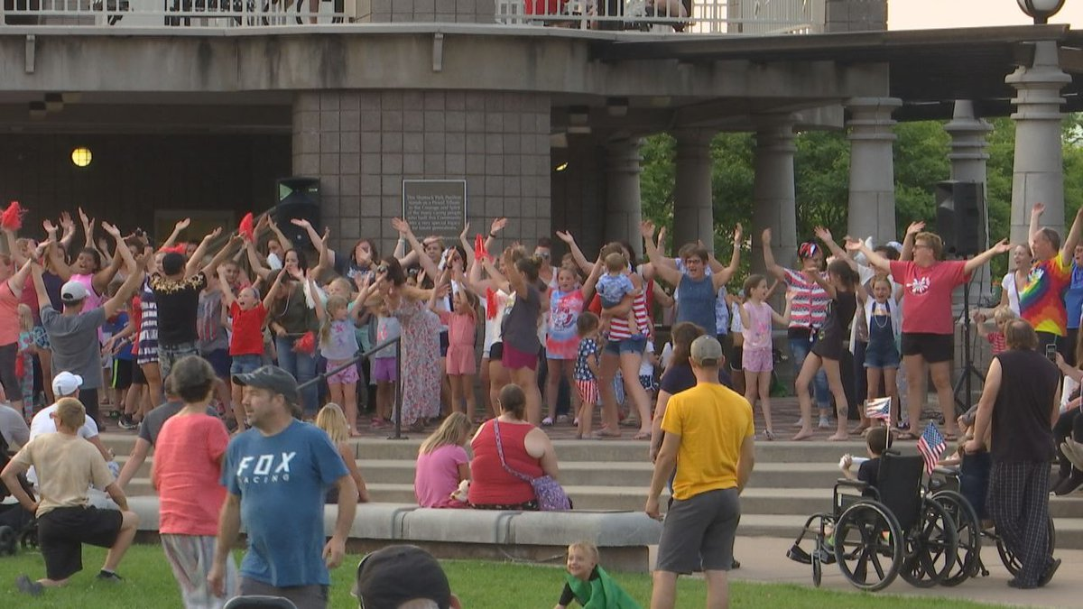 The annual Pajama Jam is back in Neenah this year with plenty of moving and grooving