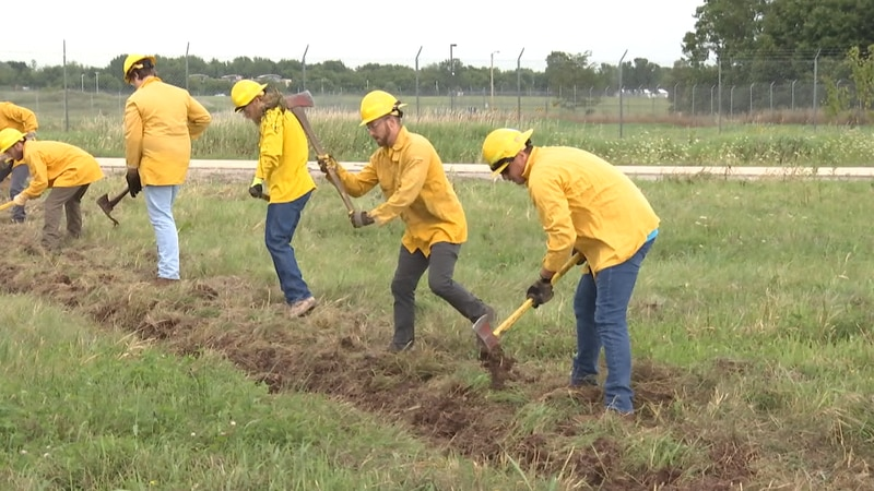 The college offers a program aimed specifically at wildland firefighting. They are the...