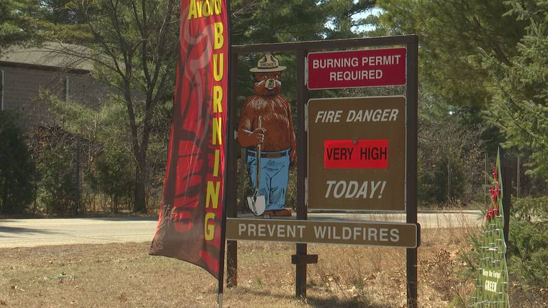 Wisconsin is in fire season early this year