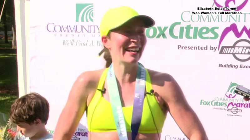 Fox Cities Women's Marathon 1st Place Winner