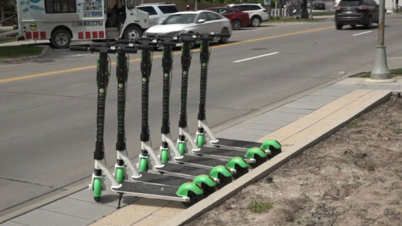 A safety demonstration on electric scooters is scheduled for this weekend.