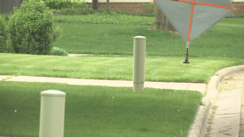 There's construction underway for fiber optic lines in a neighborhood on Green Bay's west side...