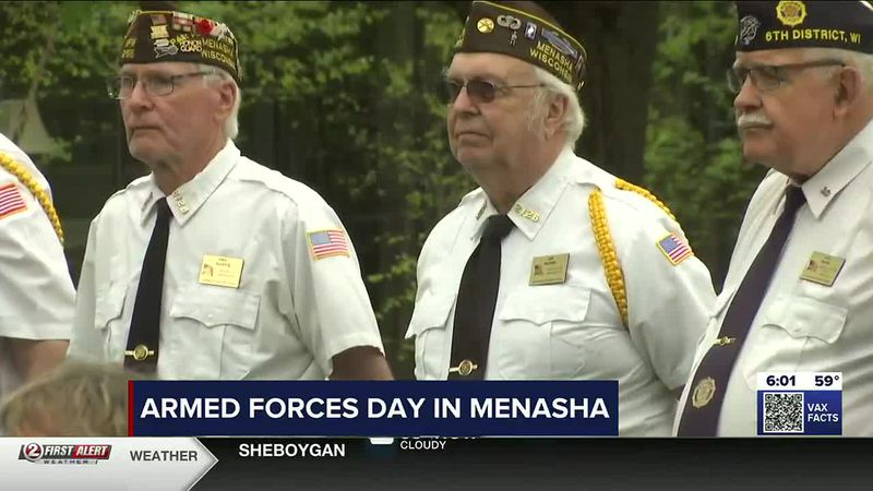 Military members honored in Armed Forces Day ceremony