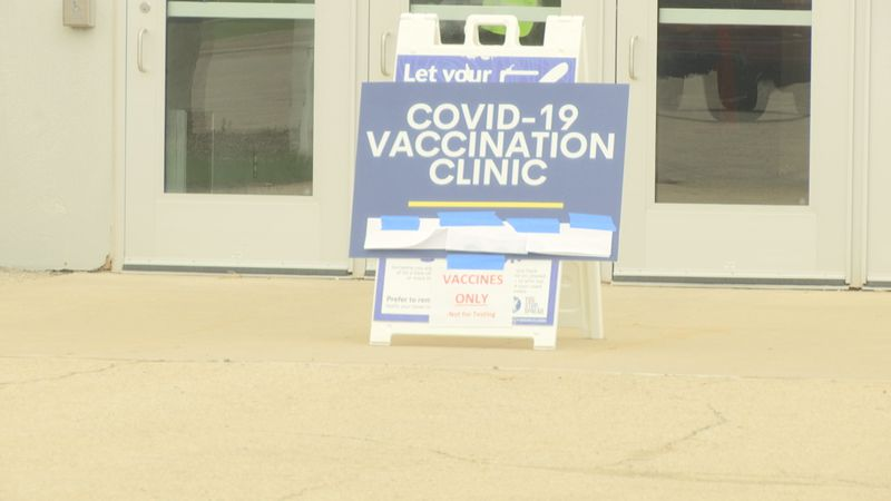 Sunnyview Expo Center in Oshkosh was accepting walk-in's for the Covid-19 vaccine on Wednesday.