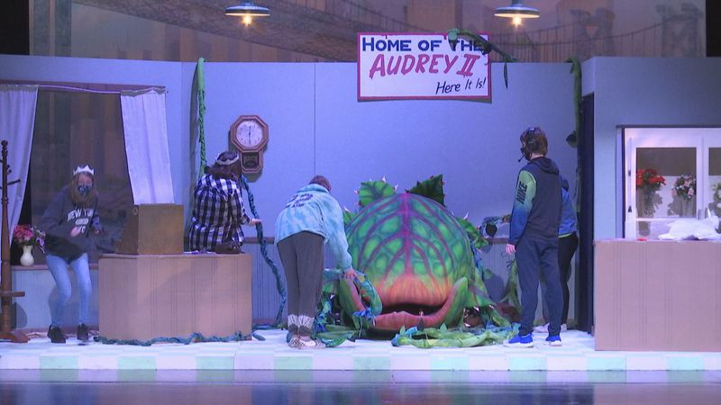 This year's performance of Little Shop of Horrors comes with a new set of challenges.