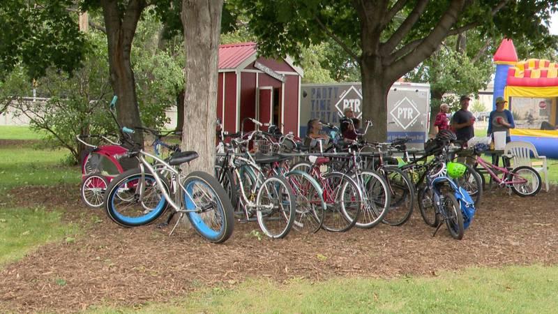 10th annual bike banquet in Green Bay