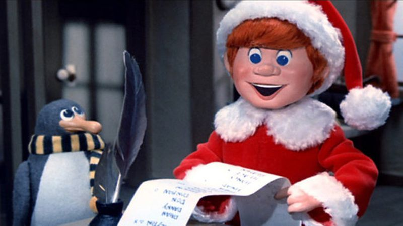 "Still frame from ""Santa Claus is Comin' to Town"" (1970)"