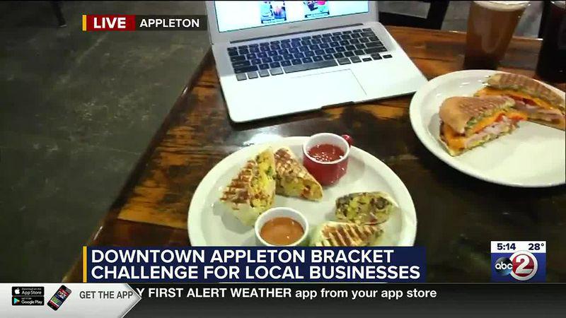 WATCH: Appleton business brackets