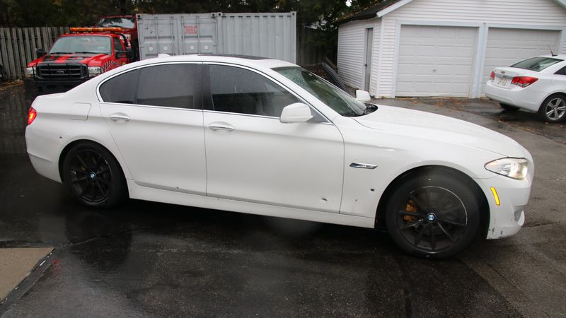 Green Bay Police are investigating a shooting after this car was left with 13 bullet holes....