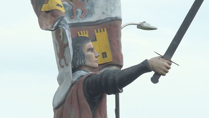 A 15-year-old created a petition to remove a statue of Christopher Columbus in Columbus, WI.