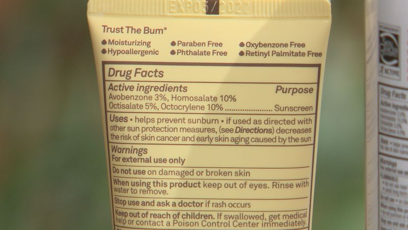 A new report finds benzene in 27% of the sunscreens it tested. The Food and Drug Administration...