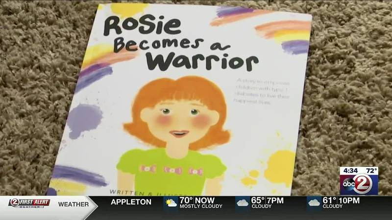 """""""Rosie Becomes a Warrior,"""" written by Julia Flaherty of Appleton, addresses childhood diabetes"""