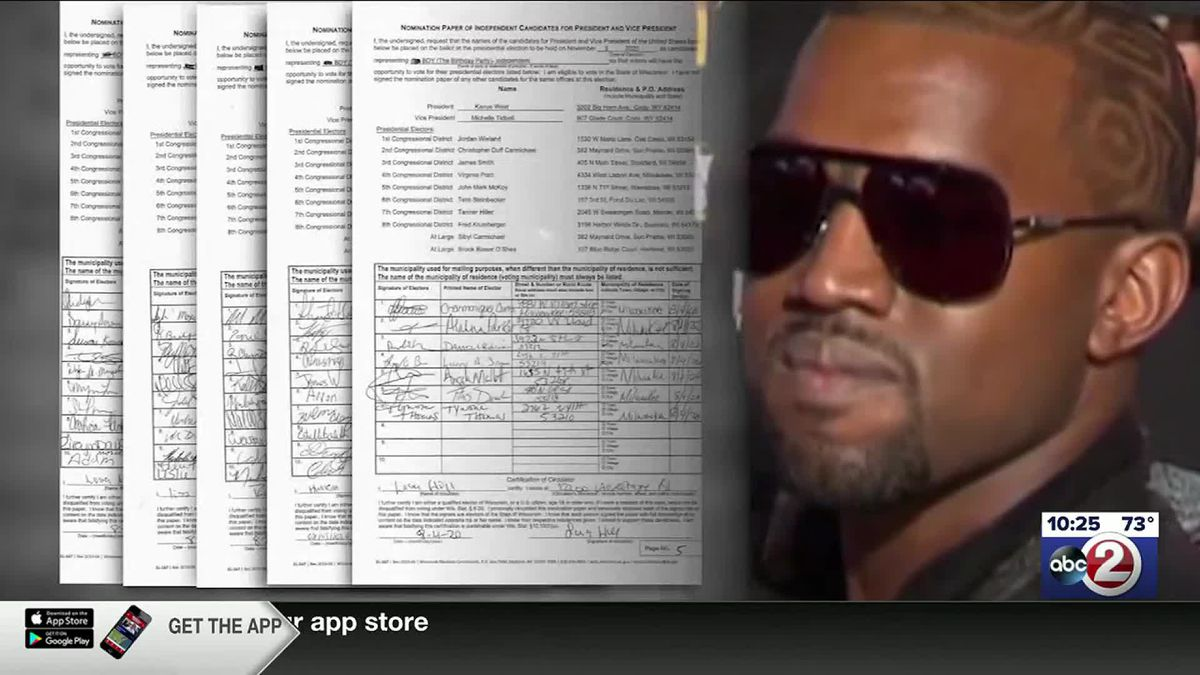 Wisconsin Elections Commission staff found Kanye West had enough valid signatures to make the presidential ballot but missed the deadline to submit them.
