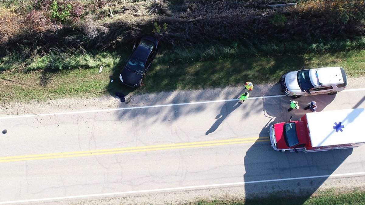 Green Lake County deputies responded to a one-car crash on County Road B in the Town of Green...