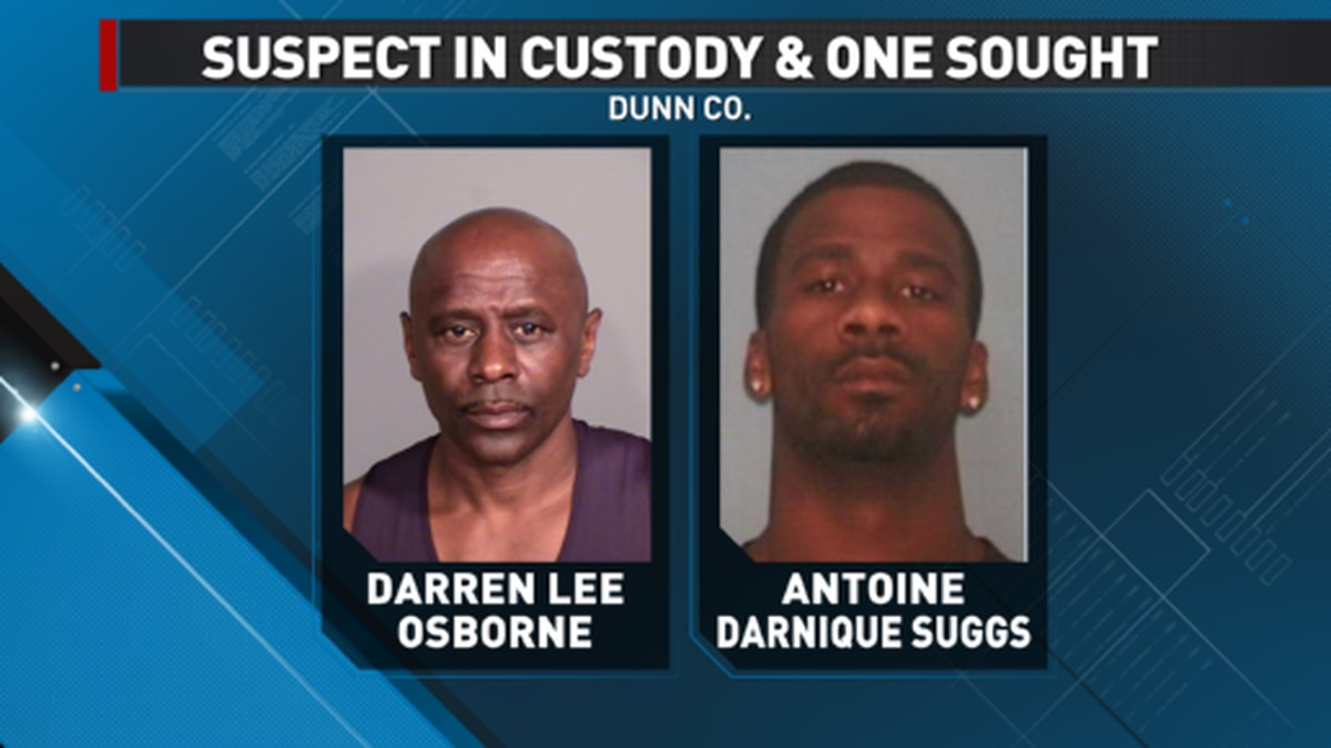 56-year-old Darren Lee McWright (Osborne) (pictured on the right) has been arrested, while...
