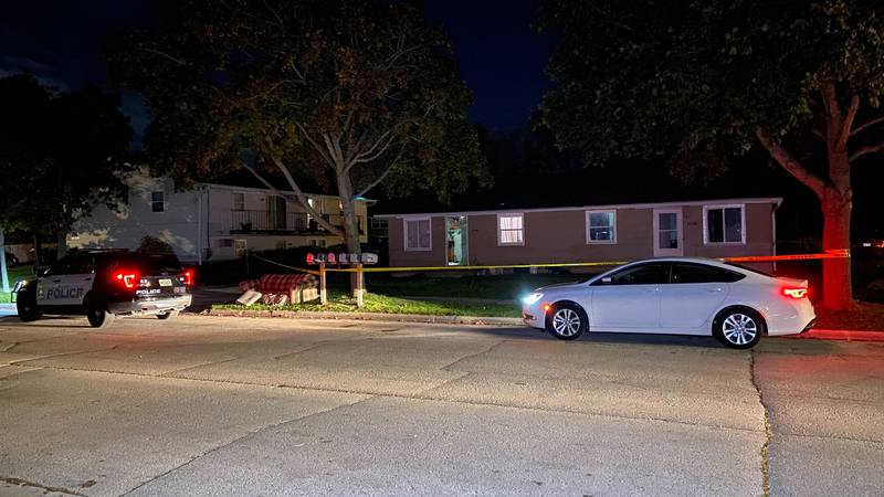 Green Bay police investigate a scene on Imperial Lane where one person was found injured and...