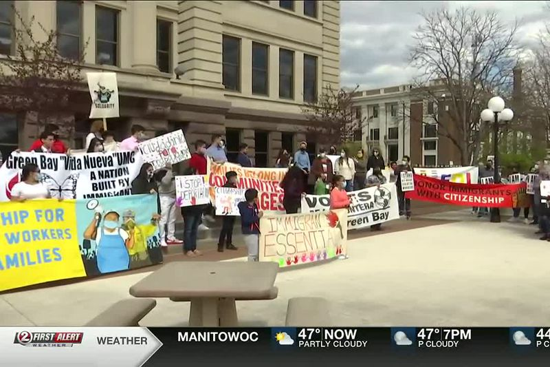 March to Victory relay makes stop in Green Bay