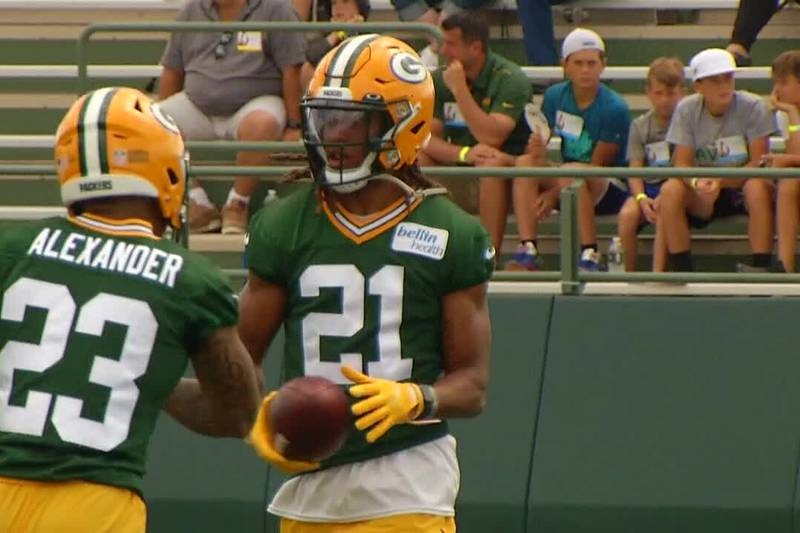 Packers training camp day 6