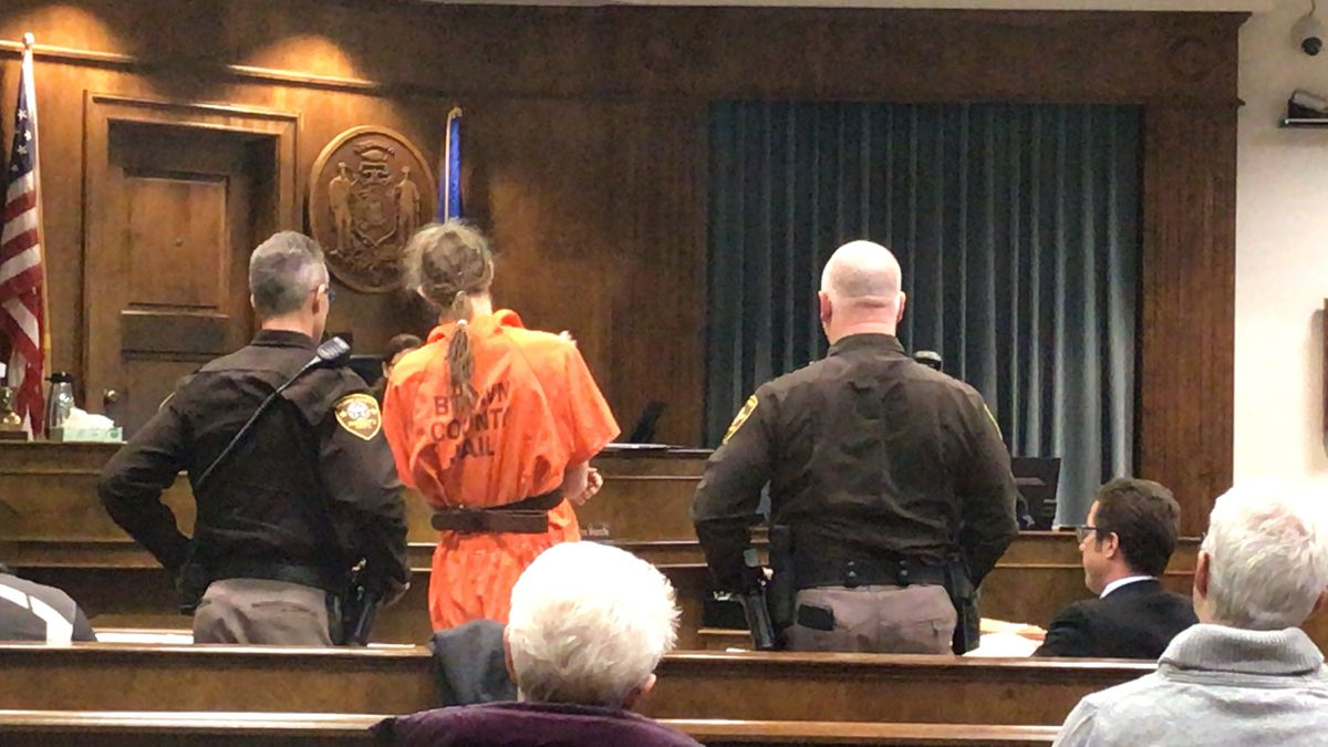 Jacob Cayer in court for competency hearing. Nov. 11, 2019. (WBAY Photo)