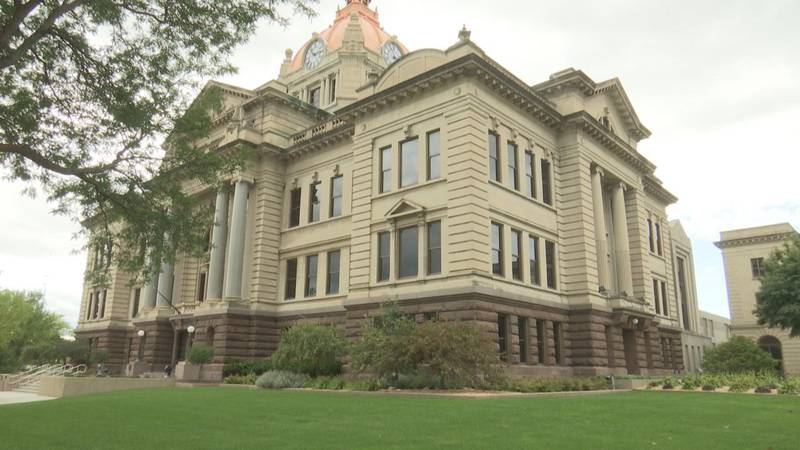 Security upgrades to the Brown County Courthouse.