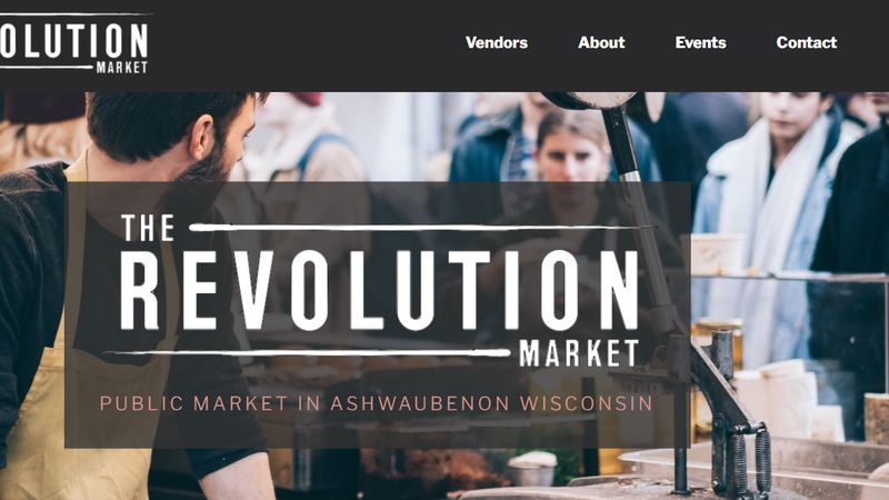 Revolution Market is a place for local shop owners to expand with a pandemic-friendly option in...