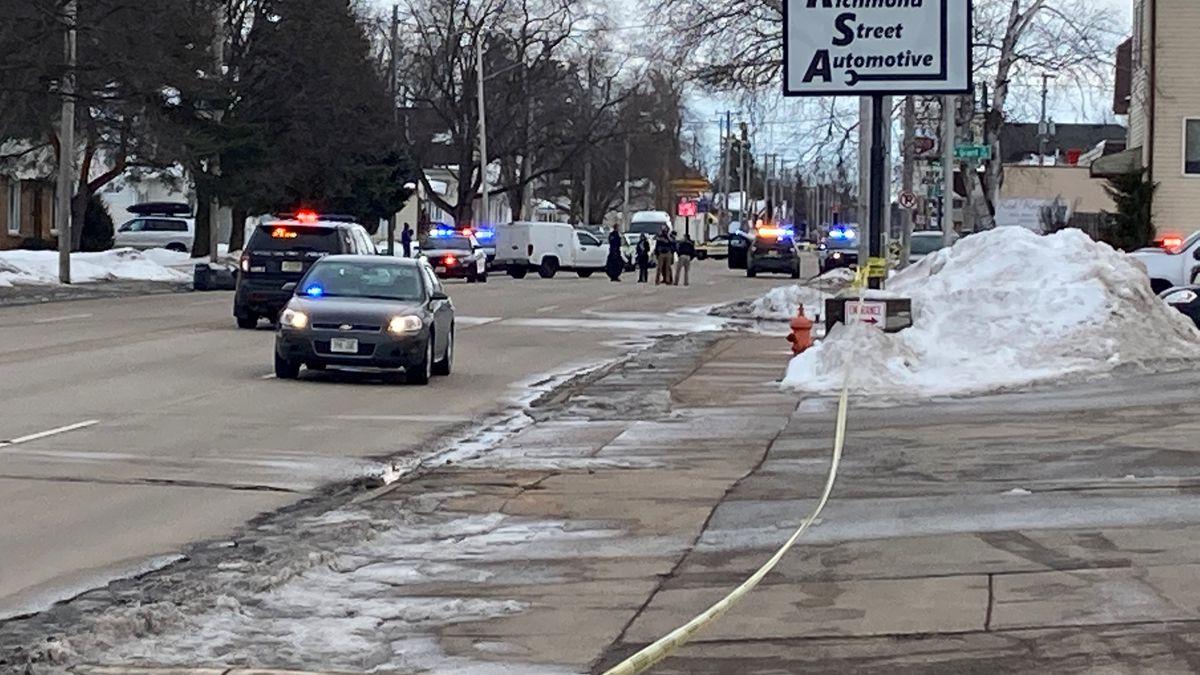 Scene of Appleton possible shots fired incident