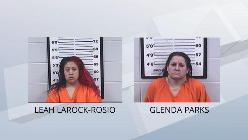 Leah Larock-Rosio and Glenda Parks