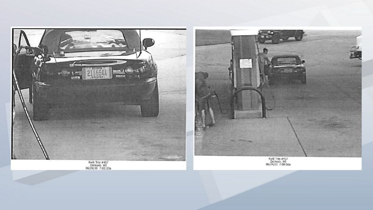 Someone stole this vehicle from Sturgeon Bay.