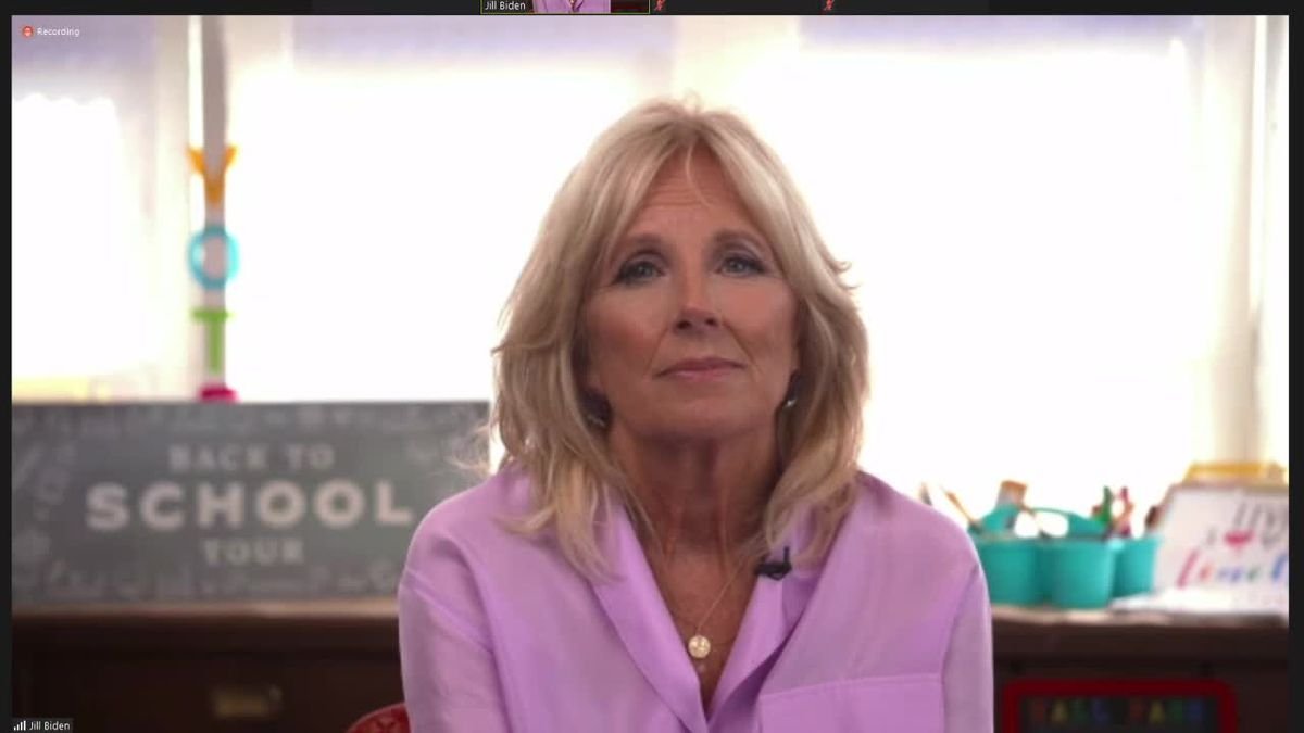 Action 2 News one on one interview with Dr. Jill Biden