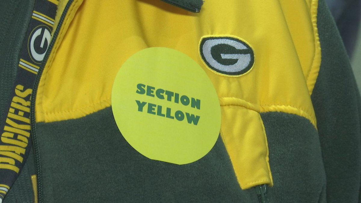 Section Yellow hopes to create sober space at Lambeau Field.