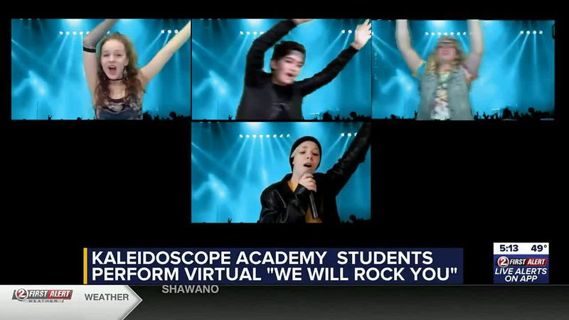Kaleidoscope Academy Queen musical
