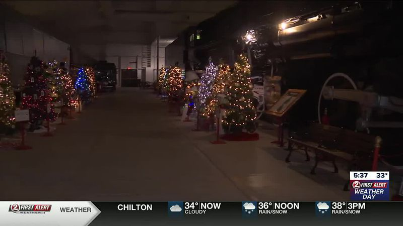 Festival of Trees at the National Railroad Museum